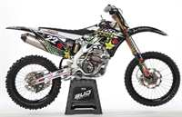 BUD ROCKSTAR Racing Team 2011 Replika Dekor Kit